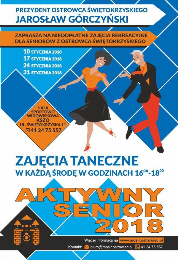 Aktywny Senior plakat