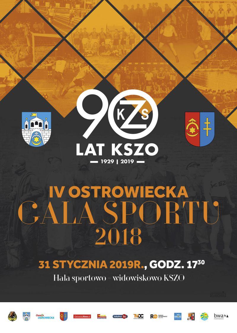 Gala Sportu 2018 plakat