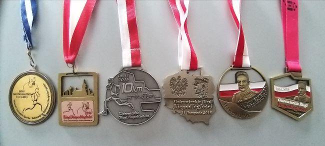Medale OBN 2013 2018