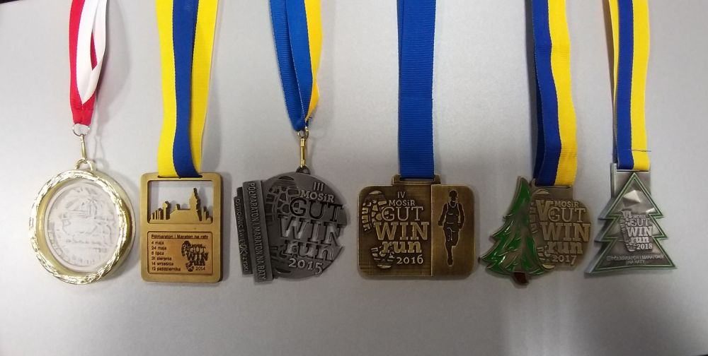 MosirGutwinRun medale 2013 2018