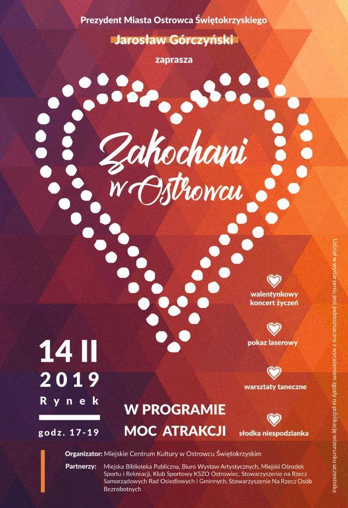 Walentynki zaproszenie media